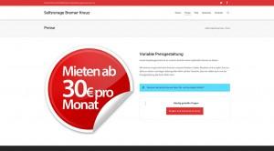 Ab 30 Euro(Monat einlagern bei Selfstorage Bremer Kreuz